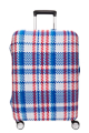 American Tourister I Come From HK Stretchable Luggage Cover L