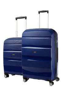 Bon Air Deluxe Spinner Bundle Set (55cm Blue, 75cm Blue)